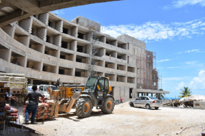New hotel construction is increasing as Isla Mujere becomes a major vacation destination.