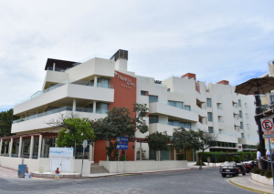 Privilege Aluxes all-inclusive hotel is on North Beach and close to downtown Isla.
